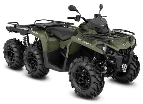 Outlander 6x6 PRO + 450 T   From £11,199*
